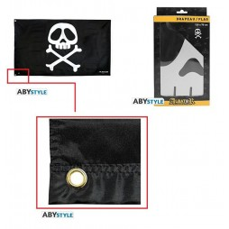 Space Pirate Captain Herlock - Capitan Harlock - Bandiera Arcadia 70x120 - AbyStyle