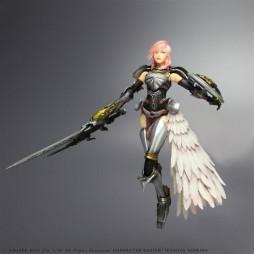 Play Arts KAI Final Fantasy XIII-2 - N°1 Lightning