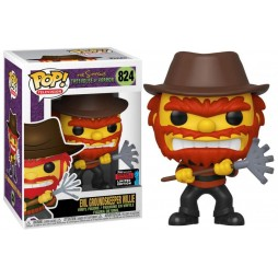 POP! TV 824 The Simpsons POP! Treehouse Of Horror Evil Groundskeeper Willy-inch NYC Comicon Limited Edition figure