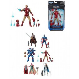 Marvel Comics - Marvel Legends Build a Figure Series - Avengers 2019 (Endgame) Wave 3 Mojo series - E7677 - Iron Man Mar