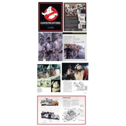 GHOSTBUSTERS - The Ultimate Visual History - Art Book - Hard Cover
