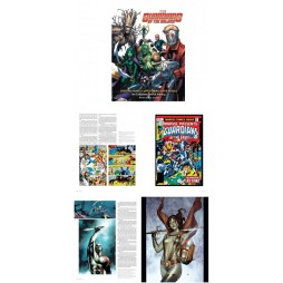 Marvel Comics - Guardians of the Galaxy Art Book Creating Marvel\'s Spacefaring Super Heroes - Art Book - Hard Cover