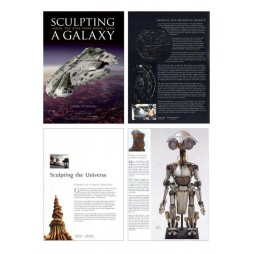 STAR WARS - Sculpting The Galaxy - Art Book - Hard Cover