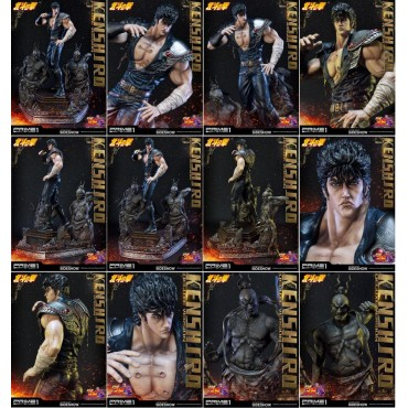Fist Of The North Star - Hokuto no Ken - Ken il guerriero - 1:4 Scale Statue/Diorama - DELUXE Version Limited Edition 75