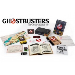 Ghostbusters - Movie Prop Replica 1:1 - Ghostbusters Employee Welcome Kit - Limited Edition Movie Prop Pack.