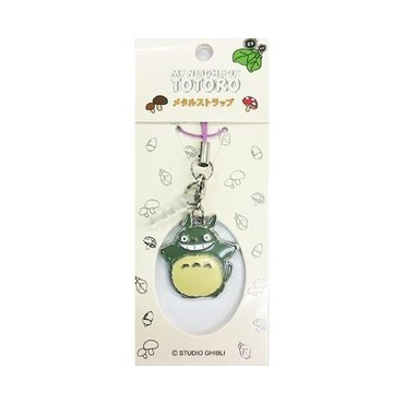 Il mio Vicino Totoro - My Neighbour Totoro - Keyring/Strap 2D - Metal - Portachiavi 2D Metallo - Totoro Strap B
