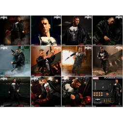 Mezco Toys - One Twelve Collective - Marvel Comics - The Punisher - Il Punitore - Netflix Series Version - The Punisher