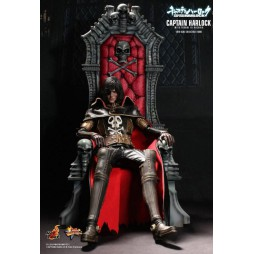 Space Pirate Captain Herlock - Capitan Harlock - 1/6 Harlock con Trono MMS223