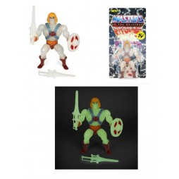 MOTU - Masters Of The Universe - Vintage Collection Action Figure - Wave 4 - Transforming He-Man (Glow in The Dark)