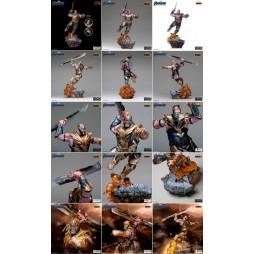 Marvel Comics - Avengers Infinity War Endgame - Iron Studios 1/10 Statue - Thanos Deluxe Ver.