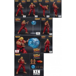Ultra Street Fighter II -The Final Challengers ActionFigure - 1/12 scale - Ken 16 cm