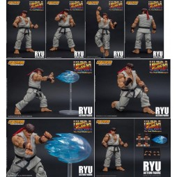 Ultra Street Fighter II -The Final Challengers ActionFigure - 1/12 scale - Ryu 16 cm