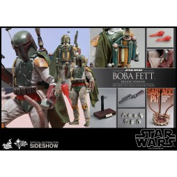 Star Wars Movie Masterpiece Action Figure 1/6 Episode VI Return Of The Jedi Boba Fett Deluxe Version