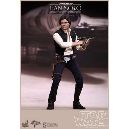 Star Wars Movie Masterpiece Action Figure 1/6 Han Solo