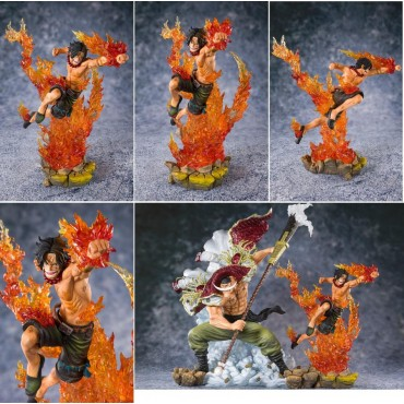 One Piece - Figuarts Zero - Comm. 2nd Division - Portgas D. Ace - Fugure Diorama Componibile