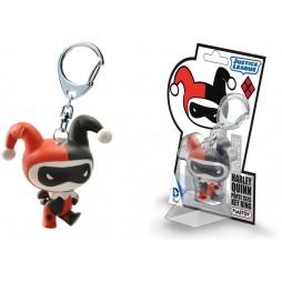 Dc Comics - Keyring 3D - Chibi - Harley Quinn Vynil Figure