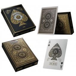 Carte Da Gioco - Carte Poker/Carte Per Giochi Di Prestigio - Theory Eleven - Black Artisan - Collectors Edition