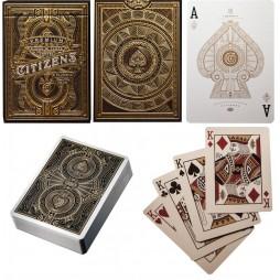 Carte Da Gioco - Carte Poker/Carte Per Giochi Di Prestigio - Theory Eleven - Citizens - Premium Edition