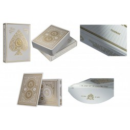 Carte Da Gioco - Carte Poker/Carte Per Giochi Di Prestigio - Theory Eleven - White Artisan - Collectors Edition