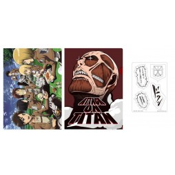 Attack on Titan - L\'Attacco dei Giganti - Ichiban Kuji Shingeki no Kyojin - Kuji Dakkan Sakusen - LOT G A6 Folder SET 4