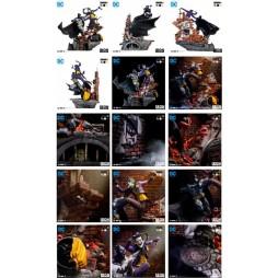 DC Comics - Iron Studios - 1/6 Scale Statue - Batman Vs. The Joker By Ivan Reis - 52 cm Battle Diorama