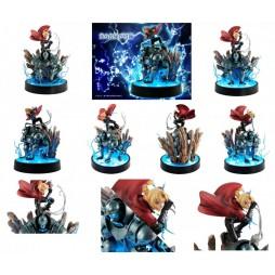 Fullmetal Alchemist - Megahouse Precious G.E.M. Statue - 1:8 scale - Alphonse & Edward Elric