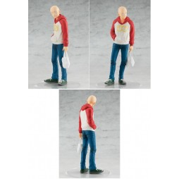 One Punch Man - Good Smile Pop Up Parade Statue 18 cm - Saitama in Oppai Hoodie