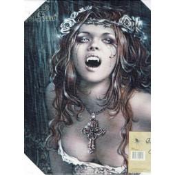 Victoria Frances Vampires - Canvas cm. 25x25 Nuovo Blisterato - Quadro in tela