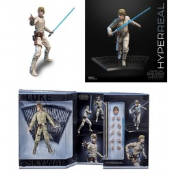 Star Wars - The Black Series - Episode V - Black Series Hyperreal Action Figure - Luke Skywalker Bespin Outfit - 20 cm