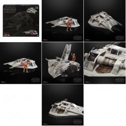 Star Wars - The Black Series - Vintage 6Inch action figure and Vehicle 2020 - Snowspeeder & Dak Ralter - Hasbro