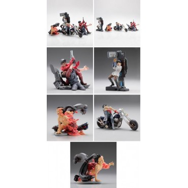Akira The Movie - Trading Figure Box SET Part 2 - Complete 6 Figure Set