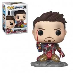 POP! Marvel 580 The Avengers Endgame Iron Man PX Exclusive Glow In The Dark - Vinyl Bobble-Head Figure