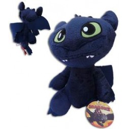 How To Train Your Dragon - Dragon Trainer Plush - Sdentato - Peluche 30 cm Mod. A