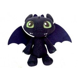 How To Train Your Dragon - Dragon Trainer Plush - Sdentato - Peluche 30 cm Mod.B