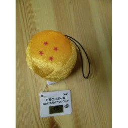 Dragon Ball Plush - Micro Peluche Strap - Sfera 4 stelle - 5 cm