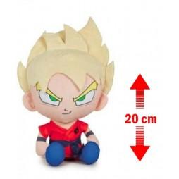 Dragon Ball Super Plush - Son Gokou SSJ Peluche 20 cm