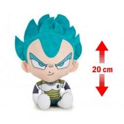 Dragon Ball Super Plush - Vegeta SSJ SSJ God Peluche 20 cm