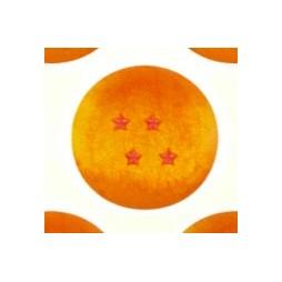 Dragon Ball Z Plush - Sfera 4 stelle - Peluche - 25 cm