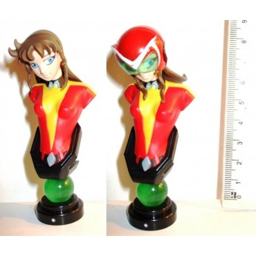 Dynamic Heroines Block - Trading Figure Blind Box Bust SET - 03 UFO Robot Grendizer Goldrake - Grace Maria Fleed