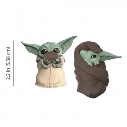 Star Wars - Mandalorian - Bounty Collection Figure 2-Pack - The Child Sipping Soup & Blanket-Wrapped
