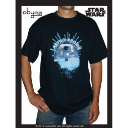 Star Wars - R2D2 Astro-droide Vers Black - T-shirt EXTRA LARGE