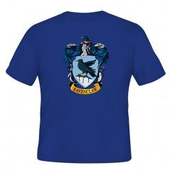 Harry Potter - Hogwarts Crests - Casate - Corvo Nero (Ravenclaw) T-shirt MEDIUM
