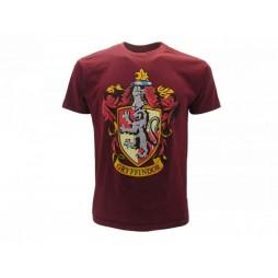 Harry Potter - Hogwarts Crests - Casate - Griffondoro Granata T-shirt SMALL