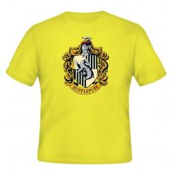 Harry Potter - Hogwarts Crests - Casate - Tasso Rosso (Hufflepuff) T-shirt LARGE