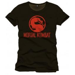 Mortal Combat - Dragon Logo Black - T-Shirt LARGE