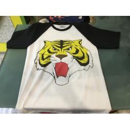 Tiger Mask - Tiger Man - Black and White / Tiger Mask - T-shirt MEDIUM