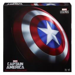 Marvel Legends - Avengers - 1/1 SCALE Captain America Plastic Shield - Scudo Capitan America in plastica - Hasbro
