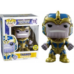 POP! Marvel 078 Guardians of the Galaxy Thanos Limited Glow In The Dark Vers. Vinyl Bobble-Head Figure