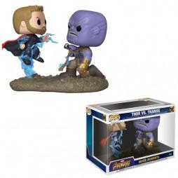 POP! Marvel 707 Marvel Avengers Infinity War Movie Moments Thor vs. Thanos 2-Pack Bobble- Head Vinyl Figure