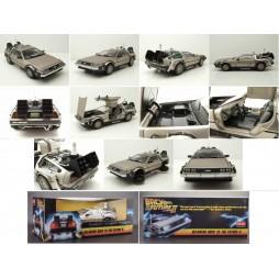 Back To The Future II - Ritorno Al Futuro Parte II - Macchina Del Tempo - 1983 DeLorean - 1/18 scale Die Cast Prop Repli